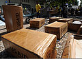 Boxes of plastic sheeting are shown in Port-au-Prince, Haiti 100224-N-HX866-006.jpg