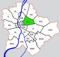 Elhelyezkedése Budapesten belül