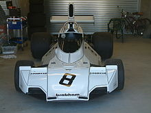 Photo d'une Brabham BT44.