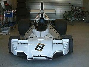 Brabham BT44 - Image: Brabham BT44 front