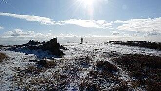 Bradgate Park - Sunshine across a winter scene.