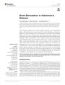 Brain Stimulation in Alzheimer's Disease.pdf