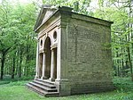Open Temple at West End of Quarter Mile Walk in Bramham Park