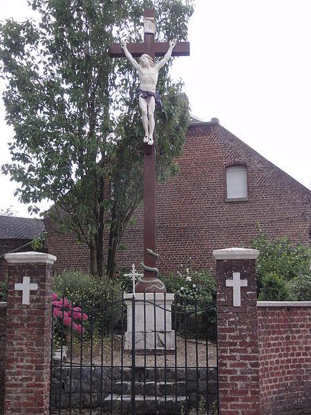 Brancourt-le-Grand (Aisne) calvaire