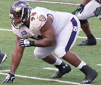 Brandon Williams (defensive tackle) - Williams playing for the Ravens in his rookie season in 2013