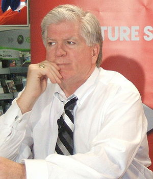 English: Brian Burke, the current General Mana...