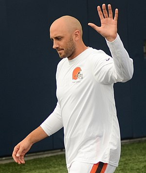 Brian Hoyer - Hoyer with the Cleveland Browns in 2014