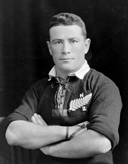 Brian McCleary New Zealand rugby union player and boxer