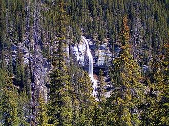 Bridal Veil Falls (Banff) - Image: Bridal Veil watefall
