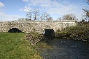 Cregg River - Image: Bridge at Cregg Mill