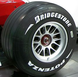 Bridgestone Formule 1-band