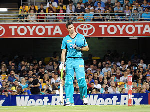 Ben Cutting - Image: Brisbane Heat vs Melbourne Stars T20 15