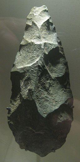 British Museum Olduvai handaxe