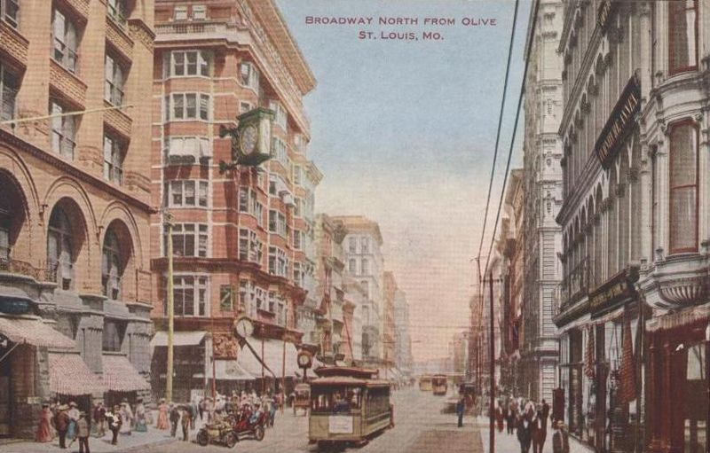 File:Broadway North from Olive, St. Louis, Missouri.jpg