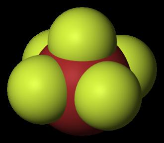 Interhalogen - Bromine pentafluoride