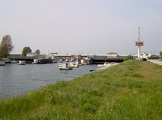 Falsterbo Canal - Bridge over the canal