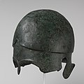 Bronze helmet of Chalcidian type MET DP105636.jpg