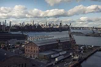 Brooklyn Navy Yard - View from near Dry Dock 4