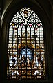 Bruxelles Co-Cathédrale St. Michel & Ste. Gudule Innen Buntglasfenster 05.jpg