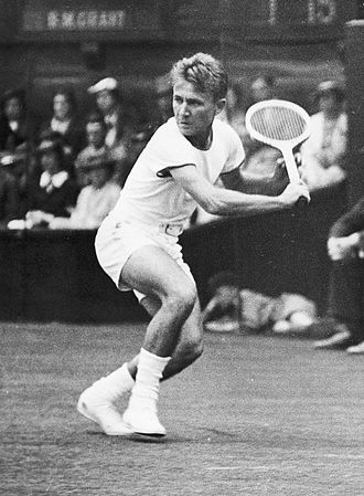 Bryan Grant - Grant at the 1937 Wimbledon Championships