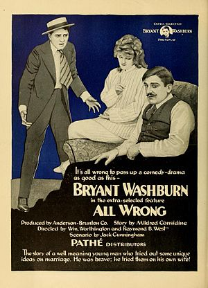 Raymond B. West - All Wrong, 1919