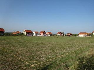 Brza Village in Jablanica District, Serbia