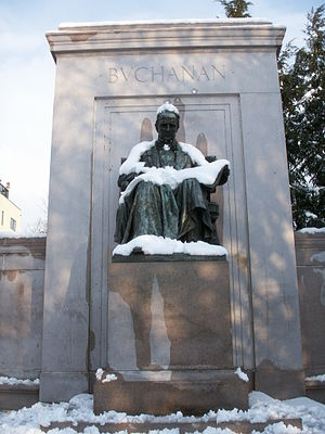 James Buchanan Memorial - Image: Buchanan memorial