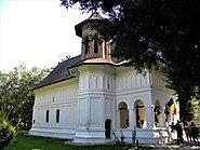 Bucuresti, Romania. PALATUL BRANCOVENESC de la MOGOSOAIA. (Biserica Sfantul Gheorghe - tricolor)(IF-II-a-A-15298)
