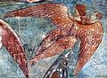 Buffalmacco, trionfo della morte, diavoli 37 angelo con anima.jpg