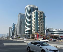 Buildings in Fujairah.JPG