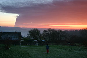 Dunsmore, Buckinghamshire - Image: Buncefield Fire