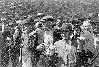 Territory of the Military Commander in Serbia - Jews detained in Belgrade, April 1941