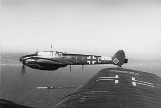 Lehrgeschwader 1 - Bf 110Cs of 1.Staffel/LG 1. during the summer of 1940