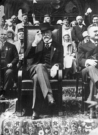 Tomáš Garrigue Masaryk - Masaryk in 1932