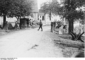 Німецькі війська на західному фронті