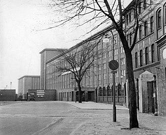 Deutschlandsender - Funkhaus Nalepastraße, 1958