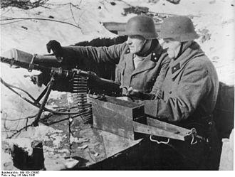 East Prussian Offensive - Volkssturm militiamen in Königsberg during the offensive