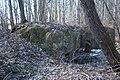 Bunkeris priešais Vieškūnų piliak.-WWI reinforced shelter in front of the mound - panoramio.jpg