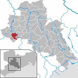 Burgstädt - Image: Burgstädt in FG