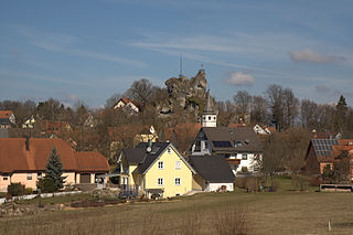 Wichsenstein Castle rock castle