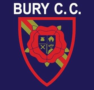 Bury Cricket Club - Image: Bury CC Badge