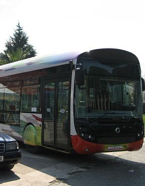 Bus lines in Tirana - Recently introduced city buses in Tirana