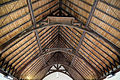 Bush End, Essex, England ~ St John Evangelist interior ~ nave roof 02.jpg