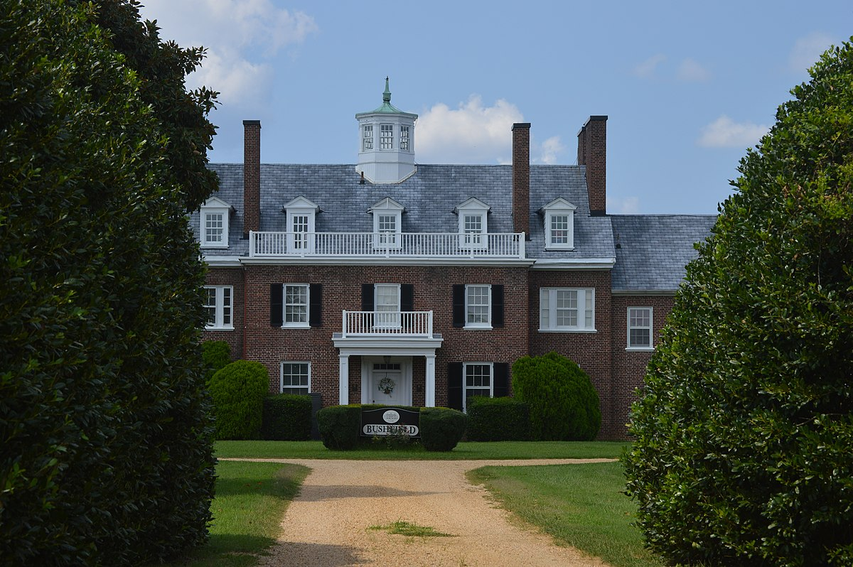 Bushfield Mount Holly Virginia Wikipedia