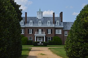 Bushfield (Mount Holly, Virginia) - Front of the house