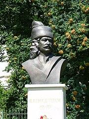Busto di Rákóczi a Miskolc
