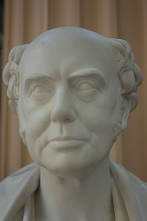 James Pillans - Bust of Prof James Pillans by Peter Slater, 1852, Old College, University of Edinburgh