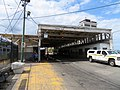 Busway canopy at Lechmere station, August 2018.JPG