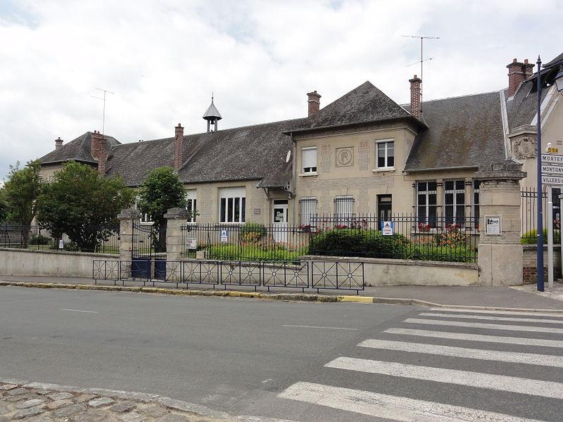 Cœuvres-et-Valsery (Aisne) école