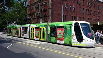 C2-class Melbourne tram - Image: C2.5123 bourke, 2014